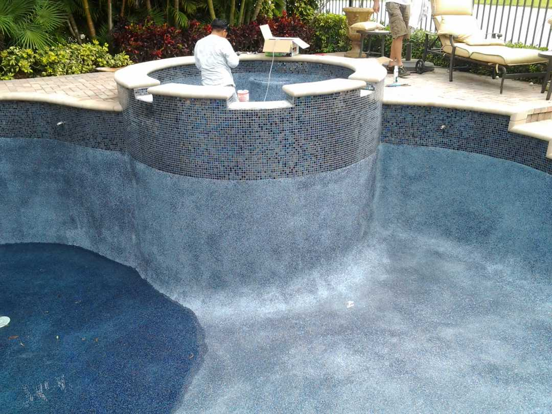 Floridas finest pools for Pool resurfacing